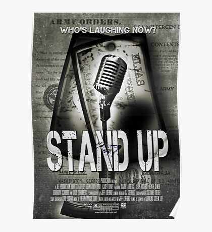 Stand Up Poster