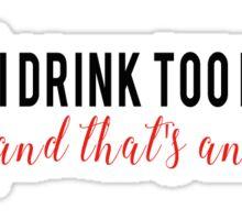Diet Coke Issue Sticker