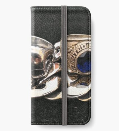 Metal  iPhone Wallet/Case/Skin