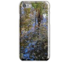 Reflection Among the Cypress Trees  iPhone Case/Skin