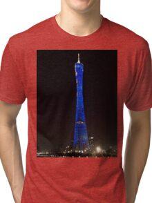 Canton Tower Tri-blend T-Shirt