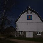 Super Moon and the Rose Barn 2016-1 by Thomas Young