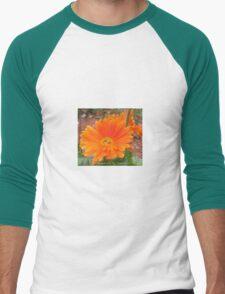 Orange Blossoms  Men's Baseball ¾ T-Shirt