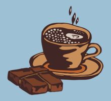 cup of coffee with chocolate Baby Tee