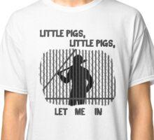 The Walking Dead Little Pigs Negan Classic T-Shirt