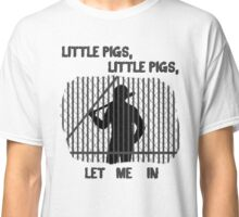 The Walking Dead Little Pigs Negan Classic T-Shirt