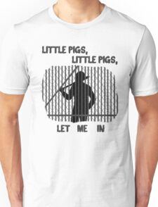 The Walking Dead Little Pigs Negan Unisex T-Shirt