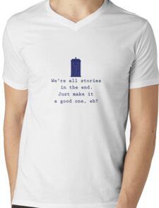 We're All Stories (Alt) Mens V-Neck T-Shirt