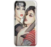 Adore Delano & violet chachki  iPhone Case/Skin