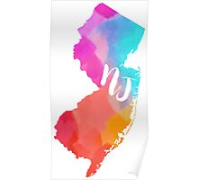 colorful NJ~~~ Poster