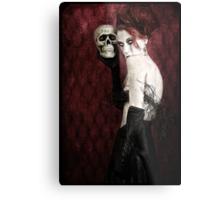 Let Me Sing You a Skullaby Metal Print