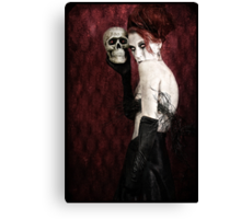 Let Me Sing You a Skullaby Canvas Print