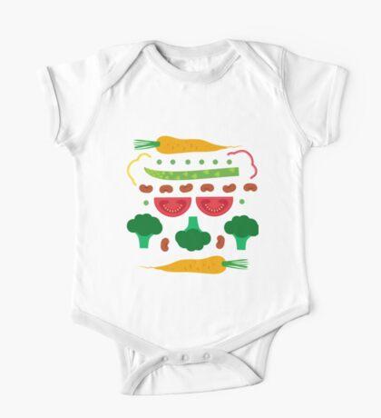 Vegetables One Piece - Short Sleeve