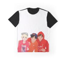Red Line Graphic T-Shirt