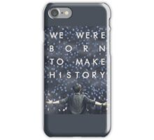history maker iPhone Case/Skin