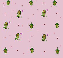 Nii Pattern-Pink by Jitter4528