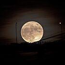 super moon on the bridge. 14th Nov 2016 by terezadelpilar ~ art & architecture