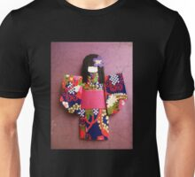 Beautiful Japanese Doll From Origami Paper Unisex T-Shirt