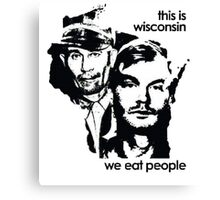 Welcome To Wisconsin Canvas Print