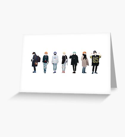 His Style Greeting Card