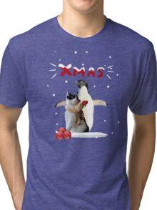 Xmas Joy Tri-blend T-Shirt