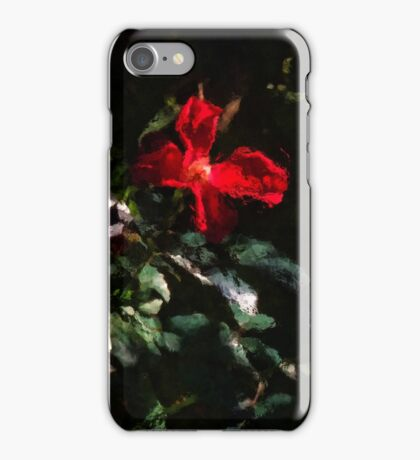 Four Red Roses iPhone Case/Skin