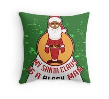 My Santa Claus Throw Pillow