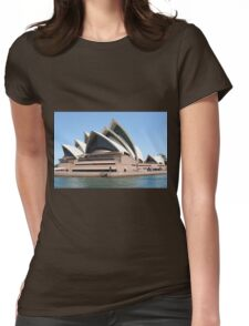 Sydney Opera House on the Harbour, Australia Womens Fitted T-Shirt