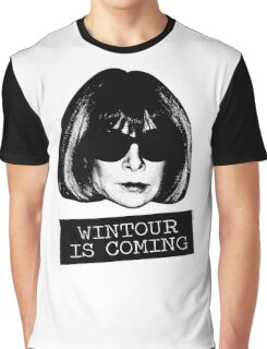 Wintour Is Coming Graphic T-Shirt