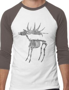 Stag Skeleton Men's Baseball ¾ T-Shirt