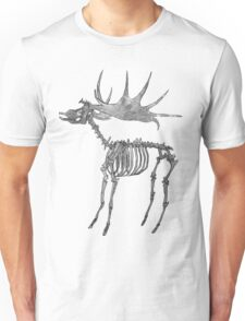 Stag Skeleton Unisex T-Shirt