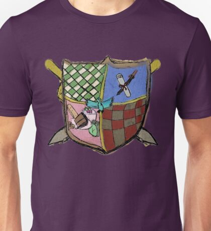 Knights of the Square Table Logo Unisex T-Shirt