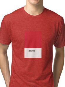 Lightning Bolt Series - Flashing Red Tri-blend T-Shirt