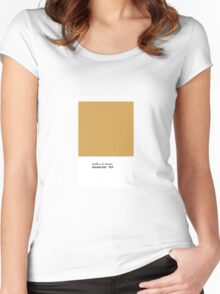 Goddess of Wonder - Amazonian Gold Women's Fitted Scoop T-Shirt