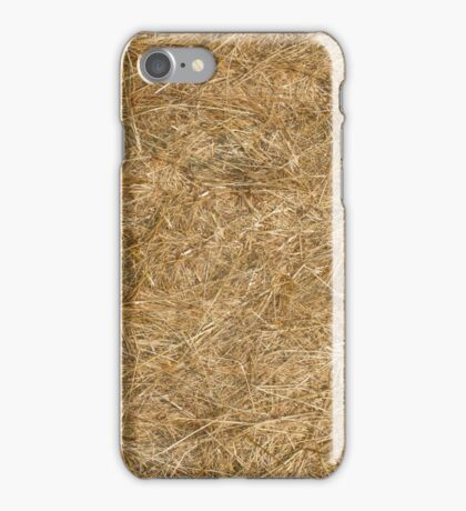 A Bale of Autumn Straw iPhone Case/Skin