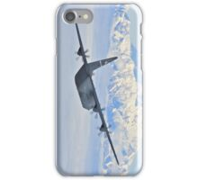 C-130 over Denali iPhone Case/Skin