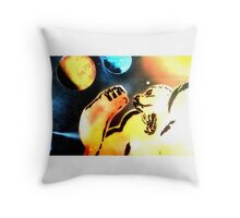 dragon ball ape Throw Pillow