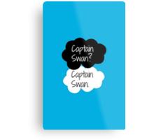 Captain Swan? Captain Swan. Metal Print
