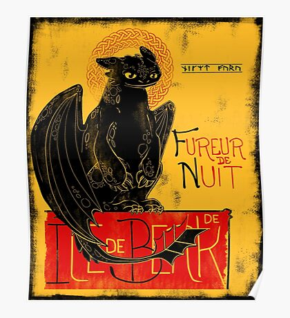 Fury of the Night - Vintage Edition Poster