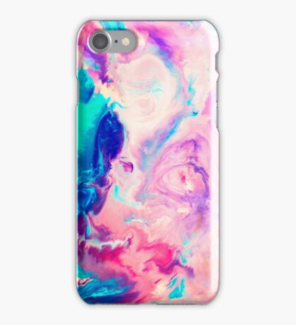 colorful marble iPhone Case/Skin