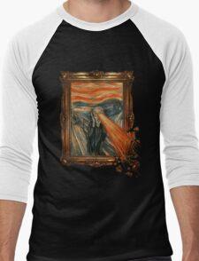 Art Attack Men's Baseball ¾ T-Shirt