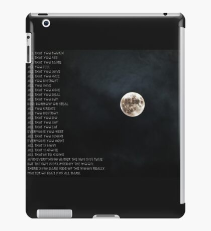 """Eclipse"" PINK FLOYD iPad Case/Skin"