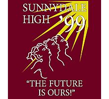 Sunnydale Yearbook 99 Photographic Print