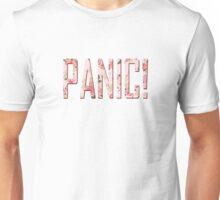 Panic! At The Disco Pastel Floral Logo Unisex T-Shirt