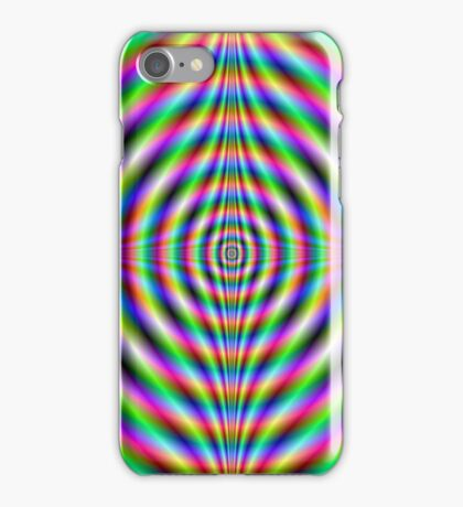 Psychedelic Neon Eye iPhone Case/Skin