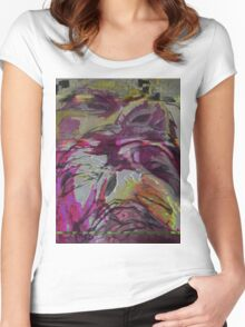 m/th/s/fl/f Women's Fitted Scoop T-Shirt