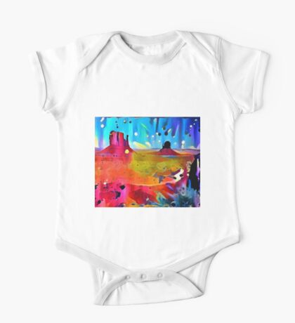 Monument Valley Sunset One Piece - Short Sleeve