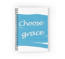 Choose Grace Spiral Notebook