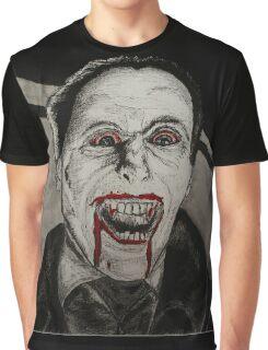 Blood Sucking Vampire Graphic T-Shirt