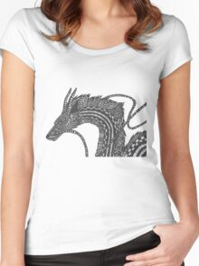 Haku - Spirited Away Women's Fitted Scoop T-Shirt